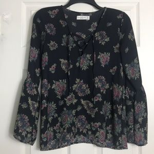 Abercrombie & Fitch boho blouse Size XS